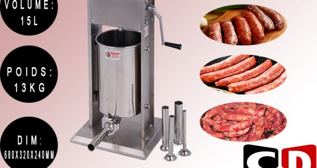 MACHINE SAUCISSES (V) 15L