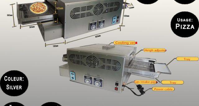 Conveyor Pizza Oven MGP-18